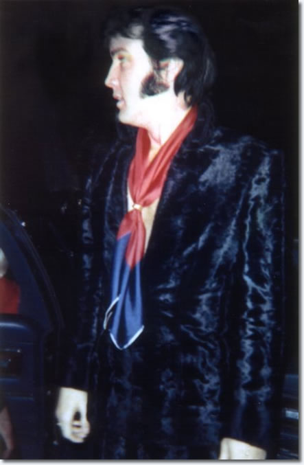 Elvis' New Years Eve party December 31, 1969