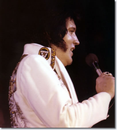 Elvis Presley at the Anaheim Convention Center, Anaheim, Ca Nov 30, 1976