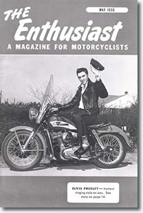 Elvis Presley on the cover of The Enthusiast